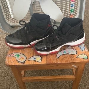 Jordan bred 11's
